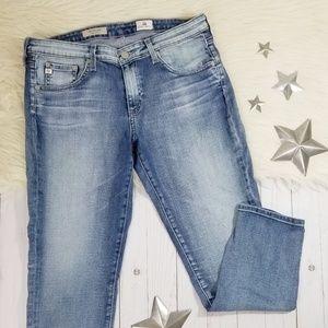 Adriano Goldschmied stilt crop cigarette jeans 30